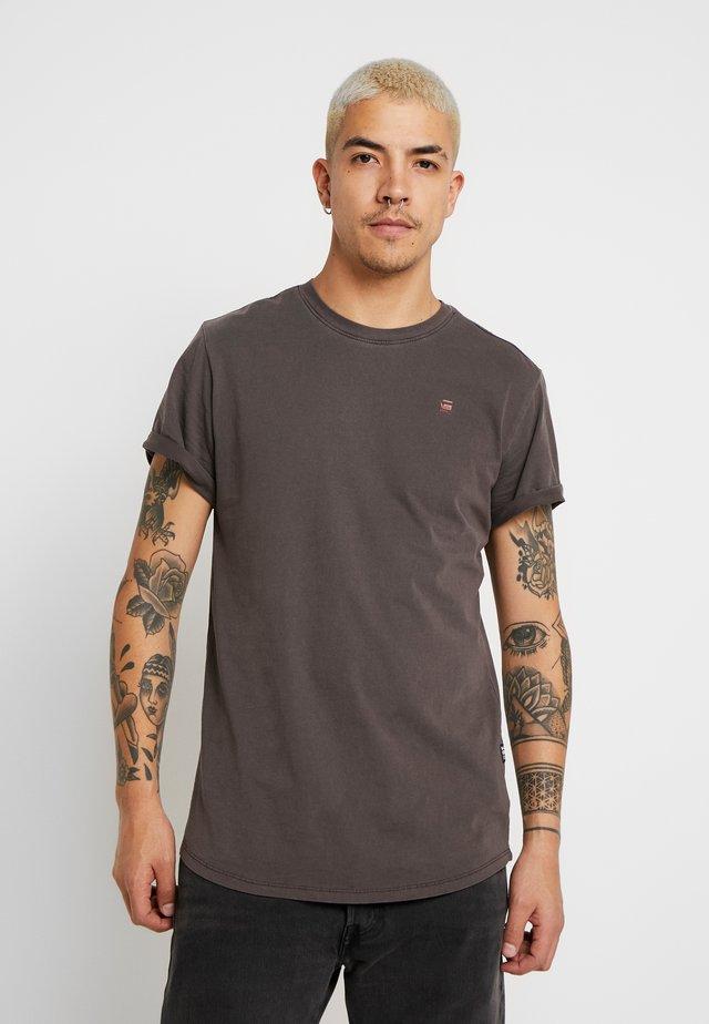 LASH - Jednoduché triko -  brown
