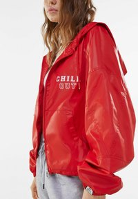 Bershka - Light jacket - red - 3