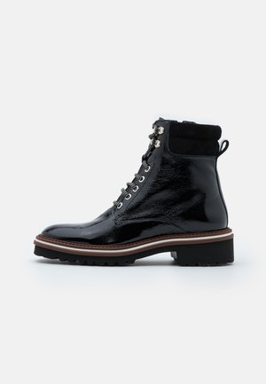 LADY - Lace-up ankle boots - black
