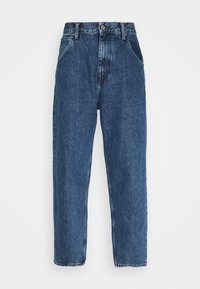 Edwin - TYRELL PANT - Relaxed fit jeans - marble light stone arctic blue - 0