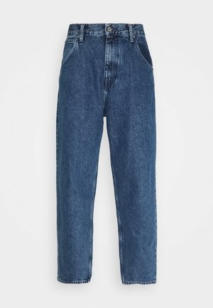 TYRELL PANT - Jeans relaxed fit - marble light stone arctic blue