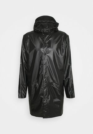 LONG JACKET UNISEX - Regenjas - shiny black