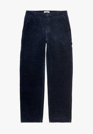 Trousers - dark navyrinsed