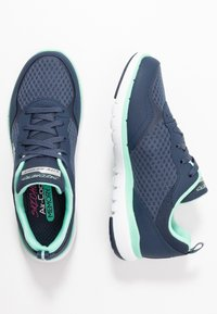 Skechers Sport - FLEX APPEAL 3.0 - Trainers - navy/aqua - 3