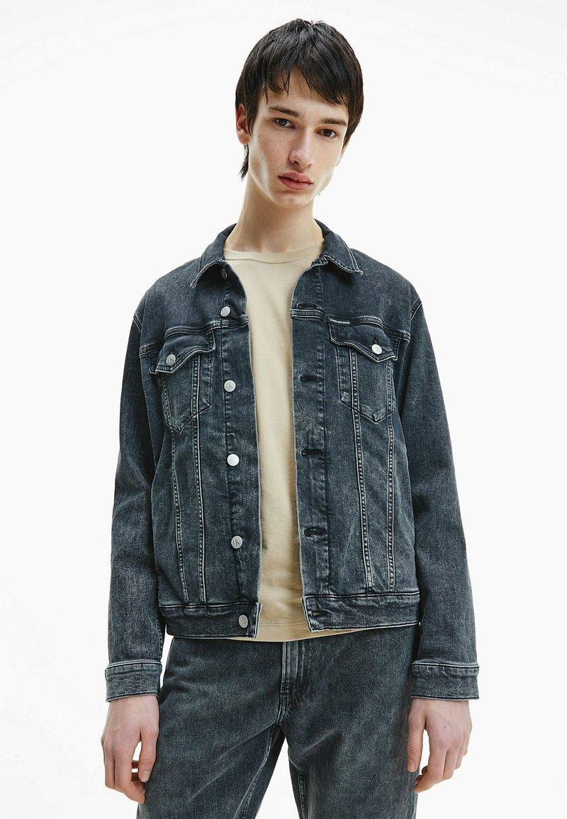 Calvin Klein Jeans - Denim jacket - denim black