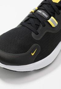 Nike Performance - REACT MILER - Juoksukenkä/neutraalit - black/white/opti yellow/dark grey - 5