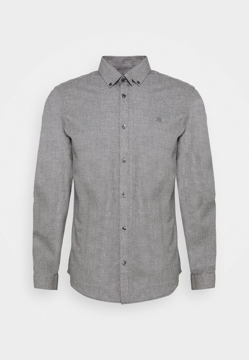 Jack & Jones PREMIUM - JPRBLAOCCASION GRINDLE - Shirt - light grey melange