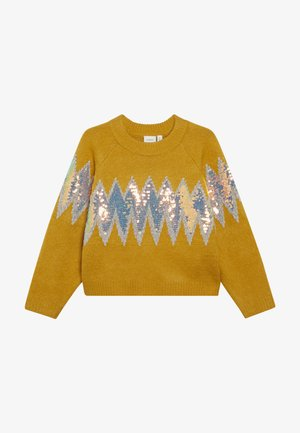 NKFRUBIE - Pullover - old gold