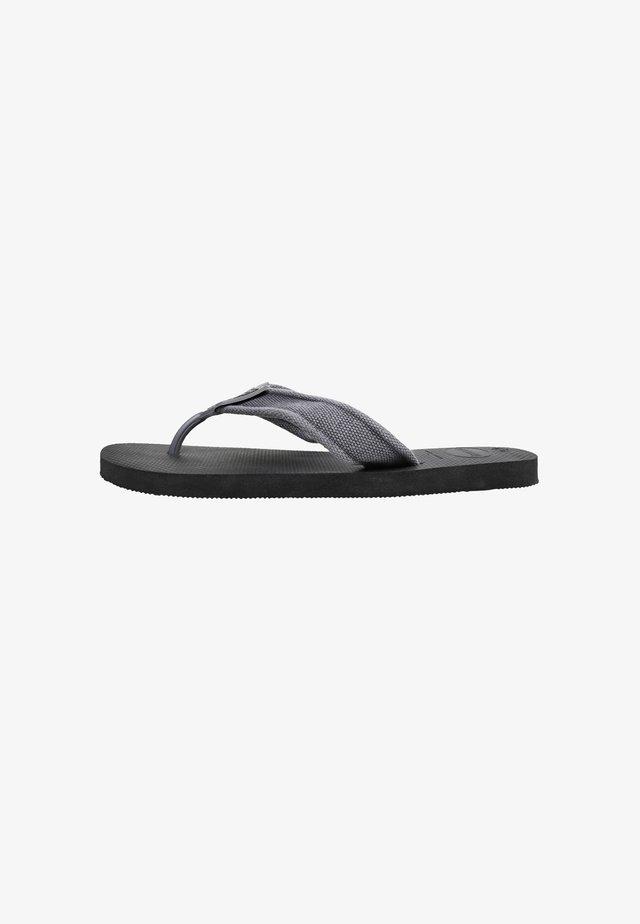 URBAN BASIC - Pool shoes - black
