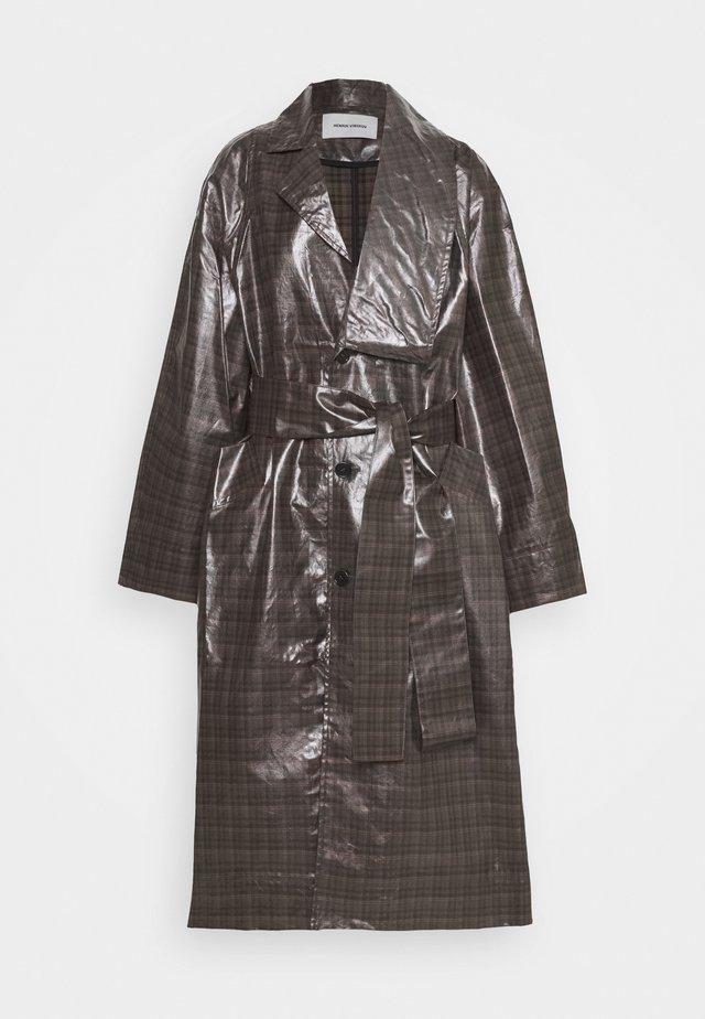 ROPE LONG COAT - Classic coat - multicolor