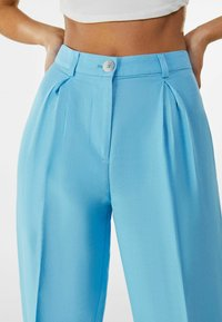 Bershka - Trousers - turquoise - 3