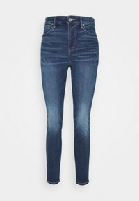 American Eagle - CURVY SUPER RISE JEGGING - Jeans Skinny Fit - indigo abyss - 4