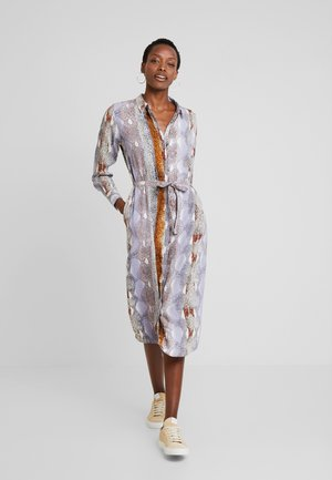 SNAKE DRESS - Maxi dress - dapple gray mix