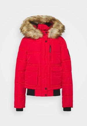 EVEREST - Zimní bunda - high risk red