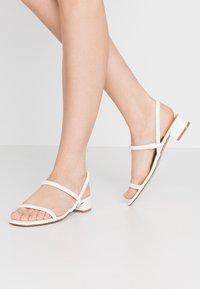 ALDO - CANDIDLY - Sandals - white - 0