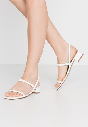 CANDIDLY - Sandals - white