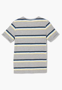 s.Oliver - Print T-shirt - grey melange stripes - 2