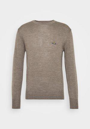 CLASSIC ROUND NECK - Svetr - grey