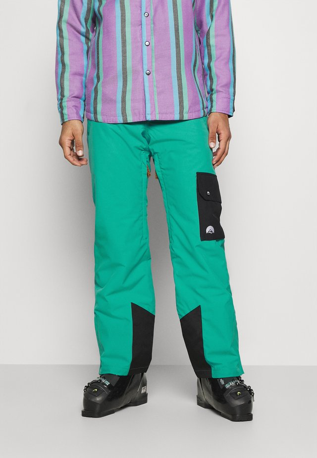 FRESH POW PANT  - Talvihousut - green