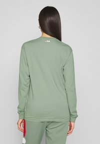 Fila Tall - PURE LONG SLEEVE SHIRT - Long sleeved top - sea spray - 2