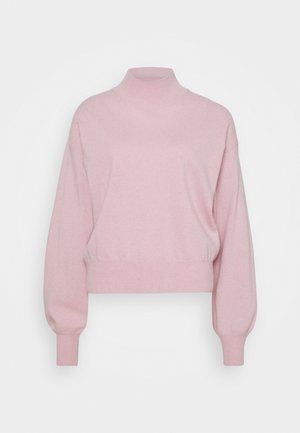 ATHENA - CASHMERE TURTLE NECK - Pullover - pink