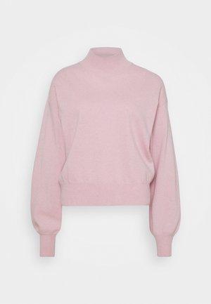 ATHENA - CASHMERE TURTLE NECK - Strickpullover - pink