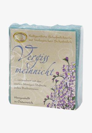 KALTGERÜHRTE SCHAFMILCHSEIFE VERGISSMEINNICHT 150 G  - Soap bar - blau