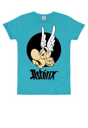 ASTERIX - Print T-shirt - türkis