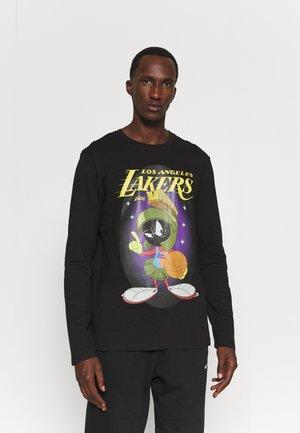 NBA LOS ANGELES LAKERS SPACE JAM 2 MY GALAXY TEE - Long sleeved top - black