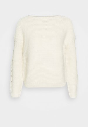 VMNONAMESTITCH BOATNECK - Strickpullover - birch