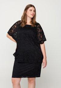 Zizzi - Pencil skirt - black - 0