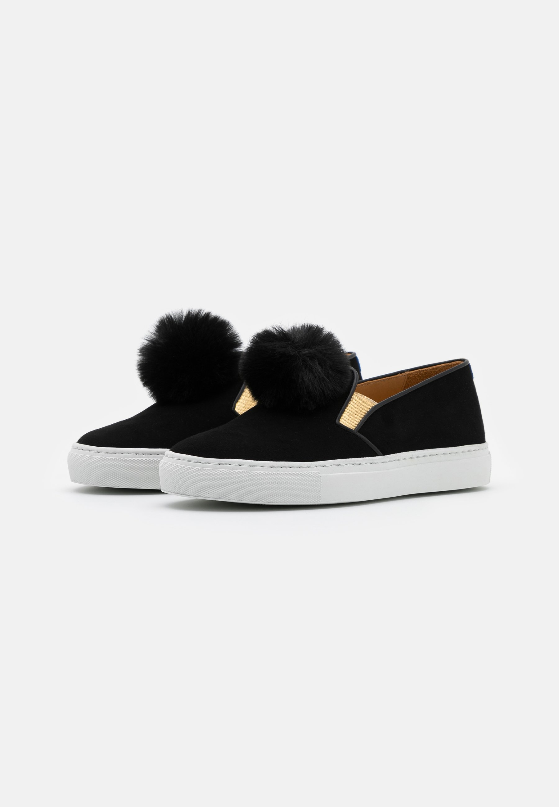 Chatelles Loafers - Black/gold