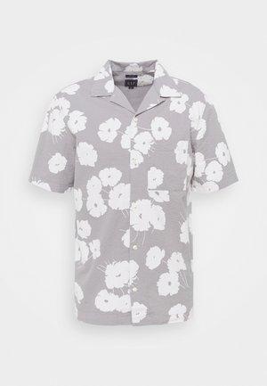 CAMP COLLAR - Shirt - grey