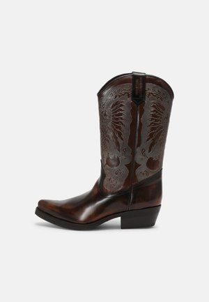 UNISEX - Kovbojské/motorkářské boty - brown