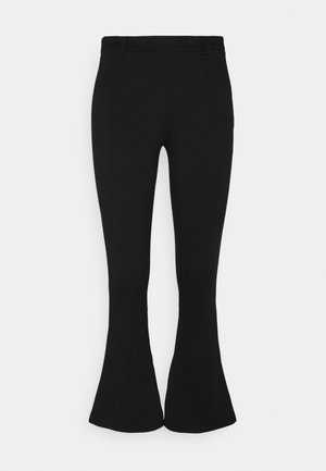 OBJSAVA NICKY PANTS - Pantalon classique - black