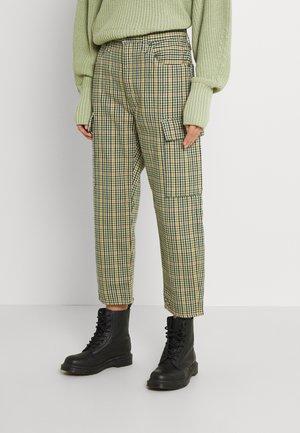 BARREL - Trousers - beige