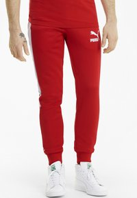 Puma - ICONIC - Tracksuit bottoms - high risk red - 0