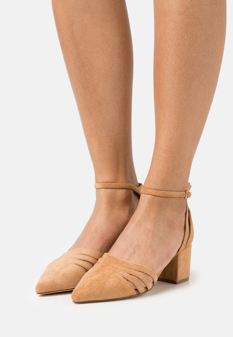 Bianco - BIADIVIVED FASHION WIDE FIT - Tacones - camel