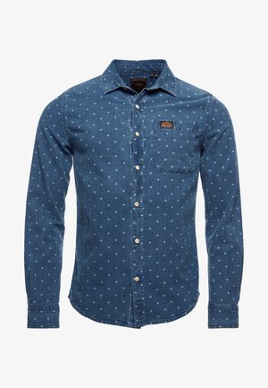 Shirt - rhombus indigo
