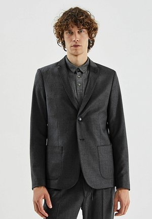 Blazer jacket - gris anthracite