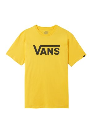 Print T-shirt - lemon chrome
