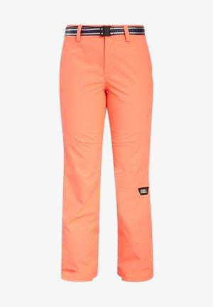 STAR PANTS - Snow pants - orange