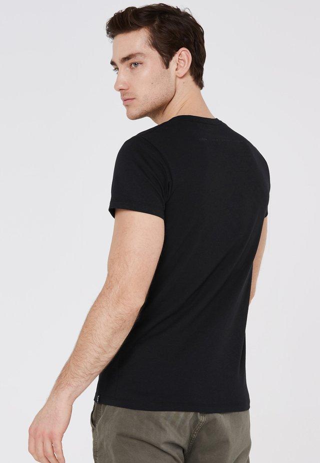 BEL-FAST  - Print T-shirt - black