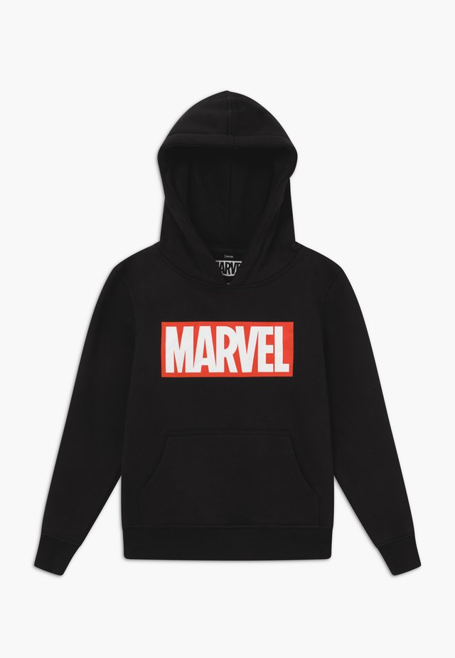 KIDS MARVEL LOGO HOODY - Huppari - black