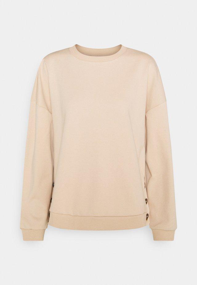 RAGLAN CREW NECK JUMPER - Sweatshirts - soft tan