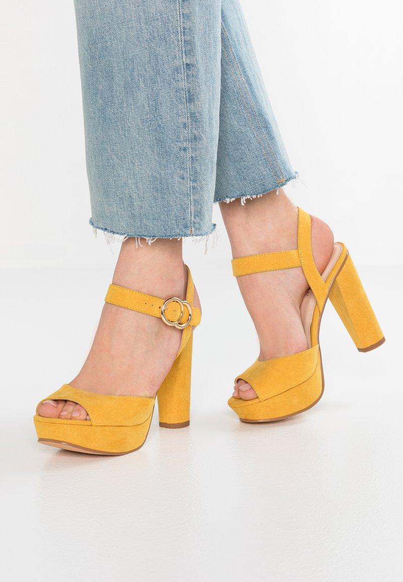 Anna Field - High Heel Sandalette - yellow