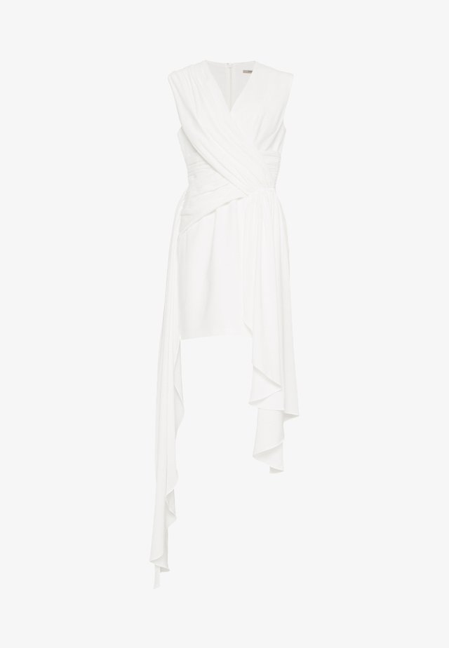 CASCADE DRESS - Robe fourreau - offwhite
