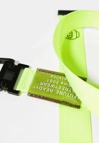 Bershka - Braided belt - neon yellow - 4