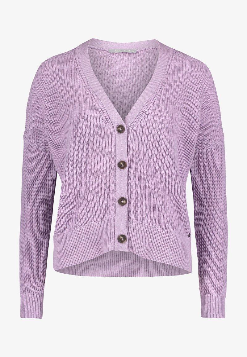 Betty & Co - Cardigan - light purple melange