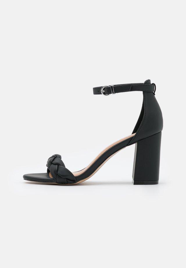 DEBBIE - High heeled sandals - black